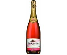 Вино игристое Bagrationi розовое полусладкое 0,75л