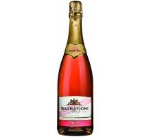 Вино игристое Bagrationi розовое полусладкое 12% 0,75л