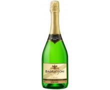 Вино игристое Bagrationi классическое белое полусухое 0,75л