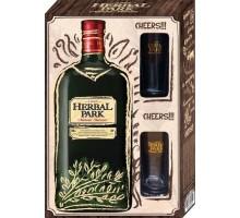 Бальзам Herbal Park 35% 0,5 л + 2 рюмки