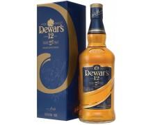 Виски Дьюарс 12-летний в подарочной коробке 0,5л