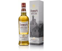 Виски Дьюарс Вайт Лэйбл в подарочной упаковке 0,7л