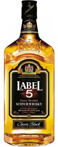 Виски Label 5  0,7л