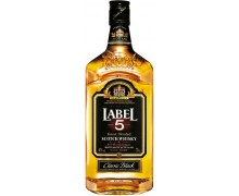 Виски Label 5  0,5л