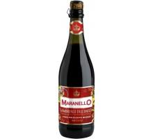 Вино игристое Maranello Lambrusco dell'Emilia Rosso 0,75л