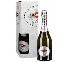 Вино игристое Мартини Асти 0,75л 7.5% в подарочной коробке
