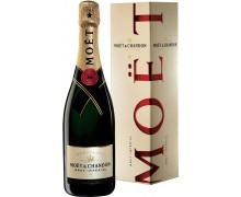 Шампанское Moet & Chandon Brut Imperial 0,75л в подарочной коробке