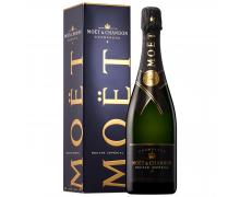Шампанское Moet & Chandon Nectar Imperial 0,75л в подарочной коробке