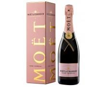 Шампанское Moet & Chandon Rose Imperial 12% 0,75л в подарочной коробке