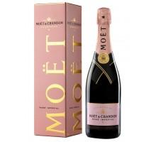 Шампанское Moet & Chandon Rose Imperial 0,75л в подарочной коробке