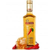 Настойка горькая Nemiroff Украинская медовая с перцем 0,5л