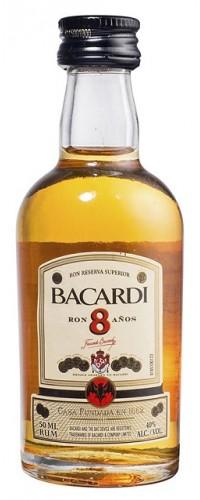 Ром Бакарди 8 лет 0,05л