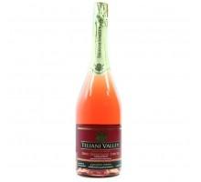 Вино игристое Teliani Valley розовое полусухое 0,75л