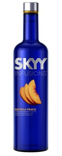 Водка SKYY INFUSIONS Peach (персик) 0,75л