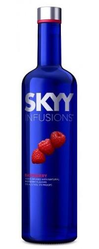 Водка SKYY INFUSIONS Raspberry (малина) 0,75л