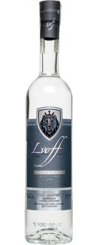 Водка Lvoff Платиновая 0,5л