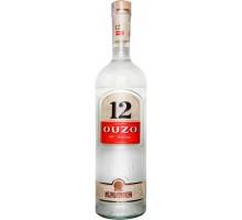 Водка OUZO 12 анисовая 1,0л 40%