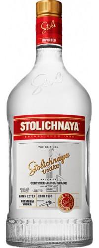 Водка Stolichnaya (Столичная) 1,75л