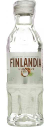 Водка Finlandia (Финляндия) Кокос 37.5% 0,05л