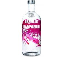 Водка Absolut Raspberry 0.7 л 40% (7312040040704)
