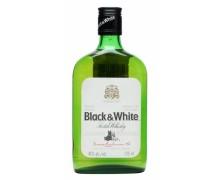 Виски Black & White 0,375л