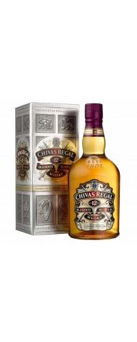 Виски Chivas Regal (Чивас Ригал) 12 лет 0,7л в коробке