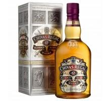 Виски Chivas Regal 12 лет 0,375л в коробке