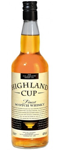Виски Glasgow Highland Cup 40% 0,7л