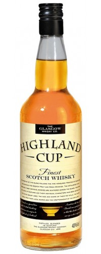 Виски Glasgow Highland Cup 40% 1л
