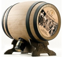 Виски Old St Andrews Clubhouse Whisky Barrel  (gift pack) 0.7