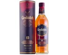 Виски Glenfiddich 15 лет выдержки 0,7л