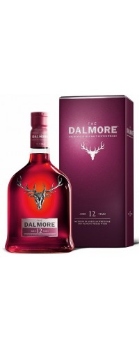 Виски Dalmore 12 YO Single Malt  40% gift 0,7л