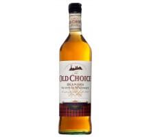 Виски Dilmoor Old Choice 1,0л