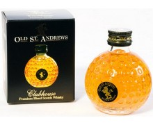 Виски Old St Andrews Clubhouse Miniature Blended Scotch Whisky 0,05л