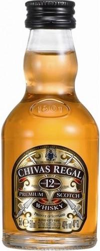 Виски Chivas Regal (Чивас Ригал) 12 лет 40% 0,05л