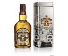 Виски Chivas Regal 12 лет 0,75л в металлической коробке