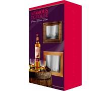 Виски Famous Grouse 0,7л + 2 бокала