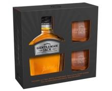 Виски Gentleman Jack 0,7л c 2-мя бокалами