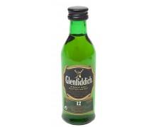 Виски Glenfiddich 12 лет выдержки 40% 0,05л