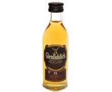 Виски Glenfiddich 15 лет выдержки 40% 0,05л