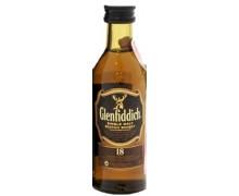 Виски Glenfiddich 18 лет выдержки 40% 0,05л