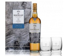 Виски Macallan Fine Oak 12 лет 0,7л +2 бокала