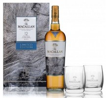 Виски Macallan Fine Oak 12 лет 0,7л +2 бокала