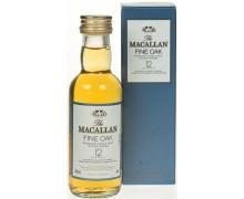 Виски Macallan Fine Oak 12 лет 0,05л