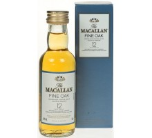 Виски Macallan Fine Oak 12 лет 0,05л