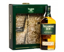 Виски Tullamore Dew Original 0,7л + 2 стакана в коробке
