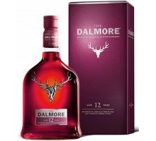Виски Dalmore 12 YO Single Malt  40% gift 0,7л