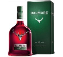 Виски Dalmore 15 YO Single Malt  40% gift 0,7л