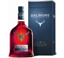 Виски Dalmore 18 YO Single Malt  43% gift 0,7л