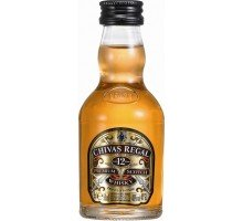 Виски Chivas Regal 12 лет 0.05 л 40% (080432400340)